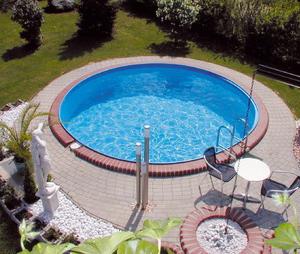 milano kör alakú medence