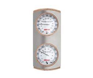 HARVIA luxus acél hőmérő-páramérő