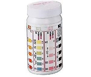 Vízelemző, tesztcsíkos pH, TCl, FRCl/Br, TA, TH 50db-os