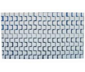 Túlfolyórács flexibilis Square 20 cm / m