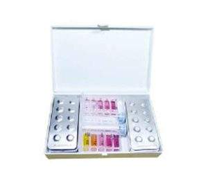 Vízelemző, tablettás pH & Cl (DPD1) méréséhez